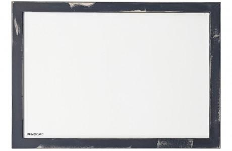 לוח מחיק מגנטי מסגרת עץ צבע שחור משופשף