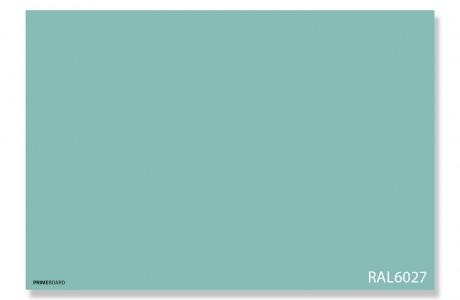 לוח זכוכית מגנטי צבע RAL 6027